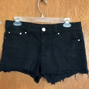 Forever 21 Black Jean Shorts! Size 30 (Juniors)!